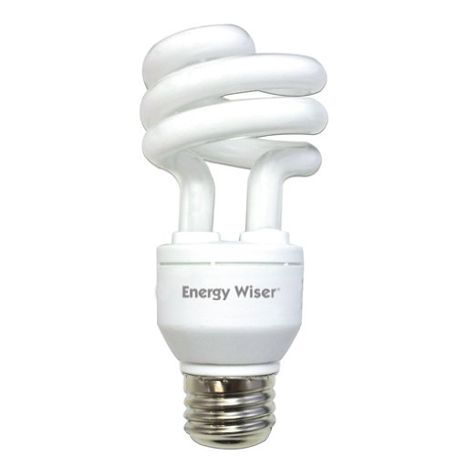 Bulbrite CF15C/WW/DM 15W 120V Energy Wiser Dimmable Compact Fluorescent Coil T3 Bulb, Warm White