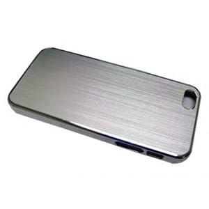 Logisys IPC02SL Silver Brush Nickel Iphone5 Case