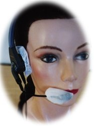 Mr-Safe Extra Small Sanitary Headphone Covers - Black