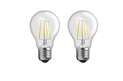 Imperial DYP02 4W E27 LED Filament Bulb (White, Pack Of 2)