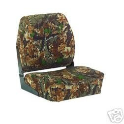 WISE HUNTING FISHING FOLD DOWN CAMO DUCK BOAT SEAT
