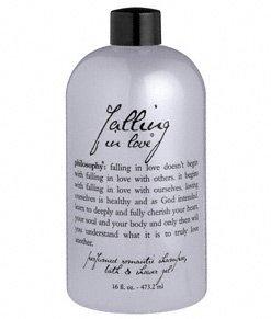 falling in love shower gel | perfumed shampoo, bath & shower gel | philosophy from philosophy