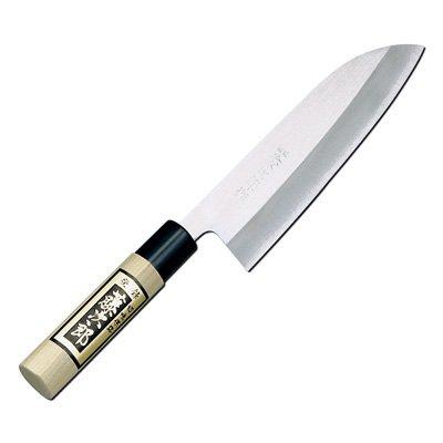 Tojiro Shirogami Steel Grinding Finished Santoku Knife 165Mm (F-701A)