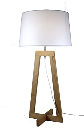 aluminor sacha lt aj2 lampe en bois e27 gvbbjkmnbvc