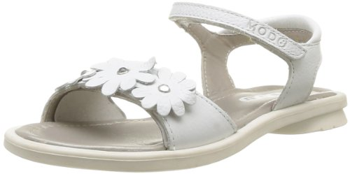 Mod8 Girls' Juka Fashion Sandals White Blanc (3 Crazy Blanc) 36