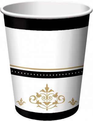Creative Converting-Stafford Gold Cups (Beverage) - 1