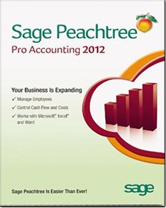 PeachTree Pro Accounting 2012