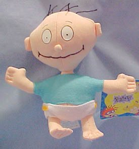 Rugrats Tommy Pickle Bean Bag Toy (Tommy Pickles Plush compare prices)