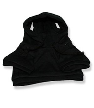 """Black Sweatshirt 8 Inch - 2050 Fits 8"""" - 10"""" bears, includes Build a Bear, The Bear Mill, and Stuff your own Animals."""