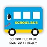 Amazon.co.jp【LINDA LINDA】マウスパッド スクールバス ブルー