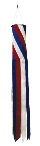 In the Breeze Patriot Diagonal Windsock, 40-Inch