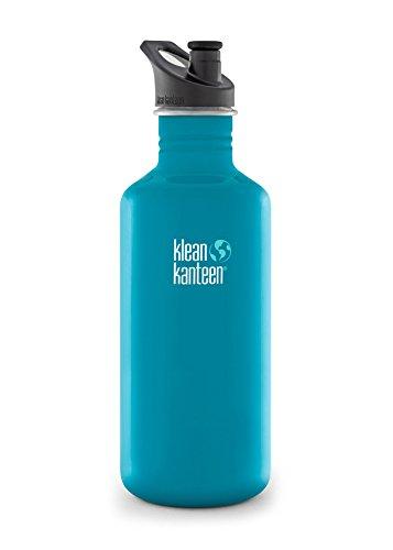 Klean-Kanteen-Edelstahlflasche-Flasche-Classic-Sports-Cap-Hellblau-08-Liter-100624