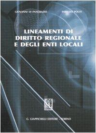 Cover Lineamenti di diritto regionale e degli enti locali