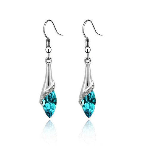 Best Susenstore Fashion Marquise Teardrop Earrings