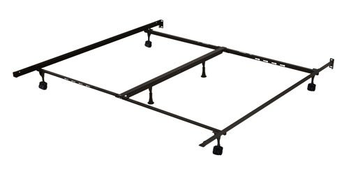 Interlock 9000 Series Bed Frame with Casters, Full/Queen/King