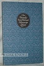 The Beinecke Rare Book and Manuscript…
