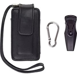 Universal Medium Cell Phone Vertical Leather Pouch