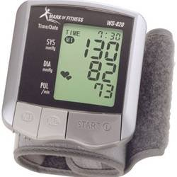 Cheap Mark of Fitness Premium Wrist Blood Pressure Monitor – Mark of Fitness Premium Wrist Blood Pressure Monitor – WS-820WS-820 (WS-820WS-820)