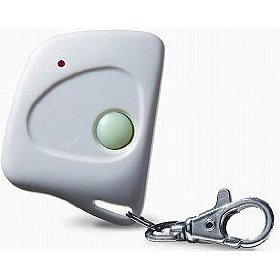 Keychain remote garage door opener firefly 300mhz garage for 12 volt garage door opener