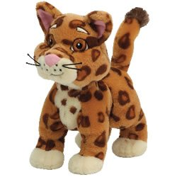 Ty Beanie Babies Collection Dora'S Friend Baby Jaguar