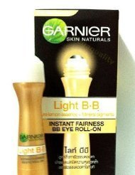 Garnier Skin Light Natural BB Instant Fairness Bb Eye Roll-on 15 Ml