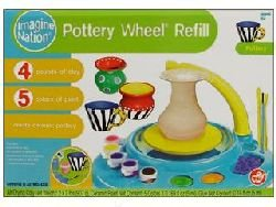 Natural Science Deluxe Pottery Wheel Workshop clay refill