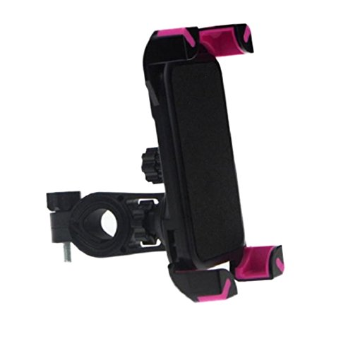 Egmy® 2016 New Universal Motorcycle MTB Bike Bicycle Handlebar Mount Holder For Cell Phone GPS (Pink)