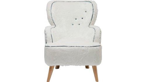 Kare Design Fauteuil Yeti - Blanc