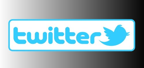 Twitter logo sticker vinyl decal 6″ x 1.5″