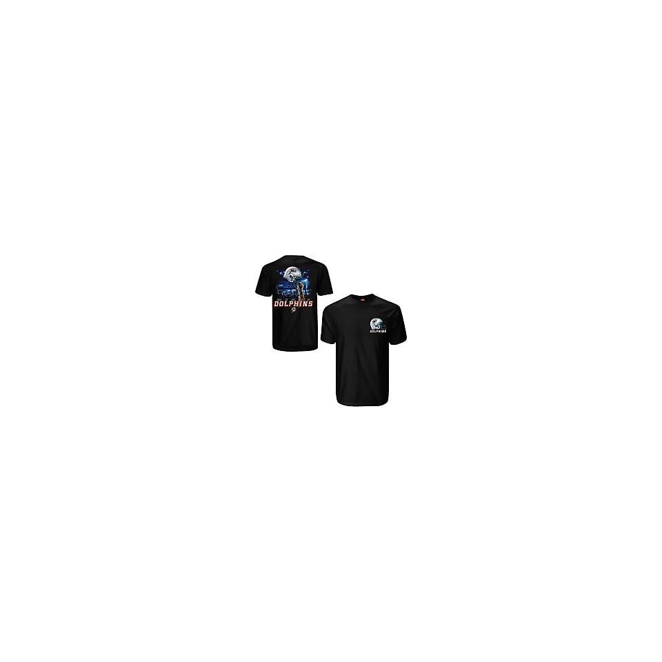 Liquid Blue Miami Dolphins Sky Helmet T Shirt XX Large