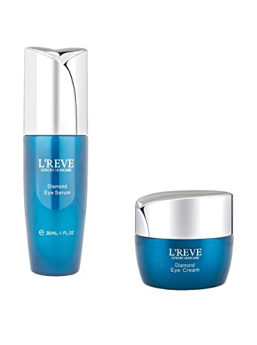 L'Reve Diamond Effective Eye Cream and Eye Serum