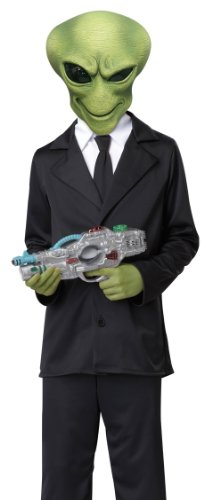 California Costumes Alien Agent Child Costume