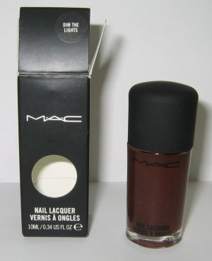 Cheapest MAC Warm & Cozy DIM THE LIGHTS Nail Lacquer Polish - Rare & HTF! from MAC - Free Shipping Available