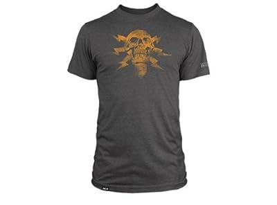Men's Battlefield 4 Lightning Skull T Shirts