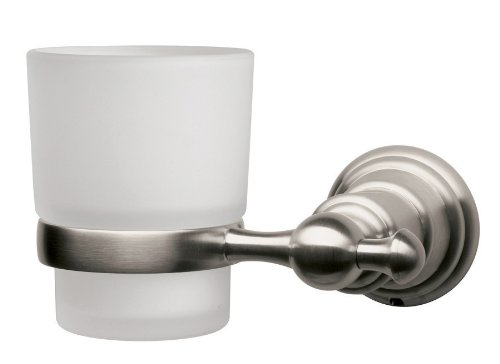 Pegasus 20720 0804 Estates Collection Wall-Mounted Tumbler Holder (Brushed Nickel)