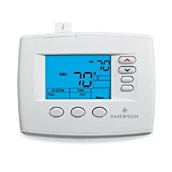 White Rodgers 1F83-0471 80 Series Blue Universal Single/Multi-Stage or Heat Pump Non-Programmable Digital Thermostat