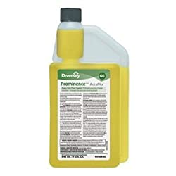 Floor Cleaner, 32 oz., Citrus, Yellow