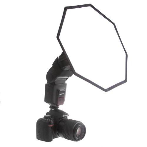 "Neewer® Pro (Pro Version Of Neewer® Product) 12""/32Cm Universal Collapsible Octagonal Studio Softbox Flash Diffuser For On Camera Or Off Camera Flash Gun, For Canon 430Ex Ii, 580Ex Ii, 600Ex-Rt, Nikon Sb600 Sb800 Sb900, Neewer Tt560, Tt680, Tt850, Tt860,"
