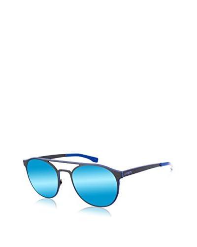 Lacoste Gafas de Sol L172S-001 (53 mm) Negro / Azul Royal