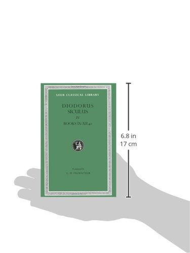 Library of History: v. 4 (Loeb Classical Library)