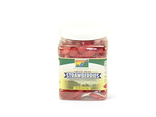 Mother Earth Products Freeze Dried Strawberries, Quart Jar (Freeze Dried Strawberries Bulk compare prices)