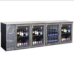 Commercial Beverage Cooler Glass Door