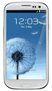Samsung Galaxy S III / S3 Unlocked GSM Smart Phone Marble White