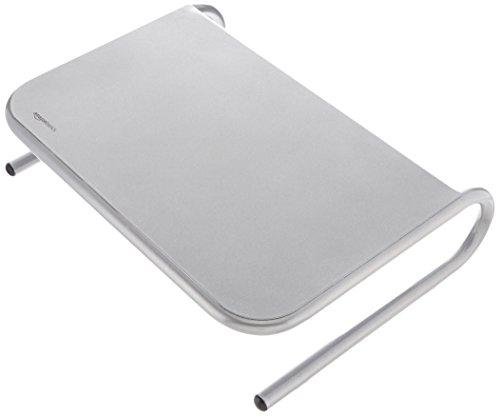 AmazonBasics - Supporto per monitor in metallo argento
