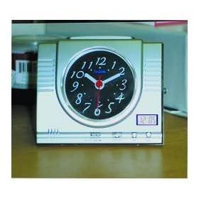 Analog and Digital Talking Desk Clock