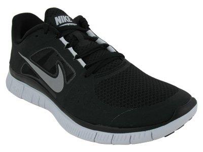 Nike Nike Free Run+ 3 Black/Wolf Grey/Reflective Silver, size 11