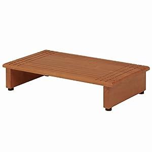 不二貿易 玄関 台 段差ステップ 幅60cm 天然木 製 88989
