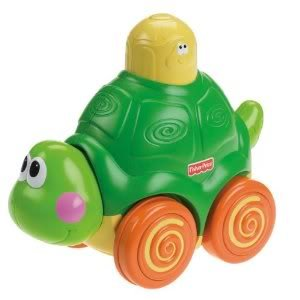 Toy / Game Fisher-Price Go Baby Go! Press And Crawl Turtle - Encourage And Reward Baby'S Physical Development front-905867