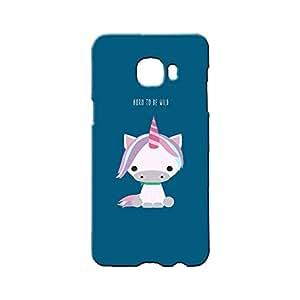 BLUEDIO Designer Printed Back case cover for Samsung Galaxy C7 - G11236