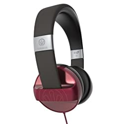 ZAGG ifrogz Audio - Carbide IFCARH-RD0 Headphones (Red)
